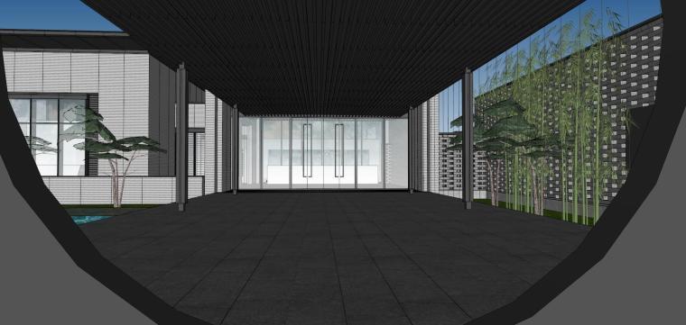 住宅中心售楼处建筑模型设计(中式风格)-知名地产中心售楼处 模型(过程) (12)