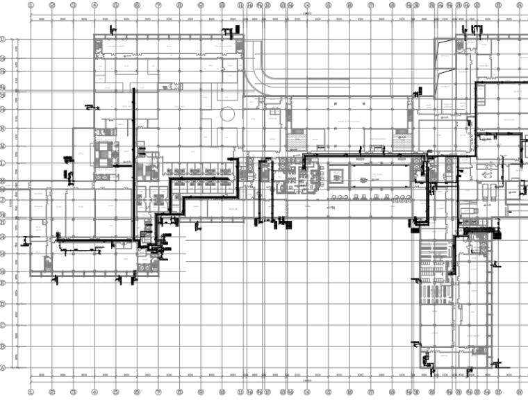北京世界园五星酒店给排水设计图纸
