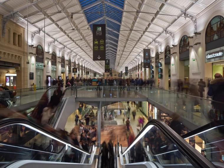 法国圣拉扎尔火车站