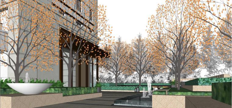[上海]绿地理想家绿地璀璨天城居住区建筑模型设计(新中式风格)-知名地产理想家海知名地产璀璨天城 (9)