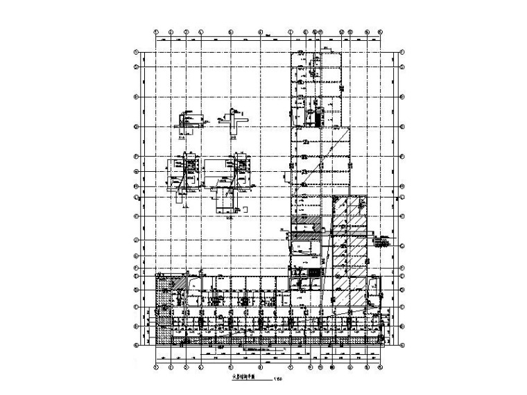 11层框剪结构口腔医院建筑结构施工图(2016)