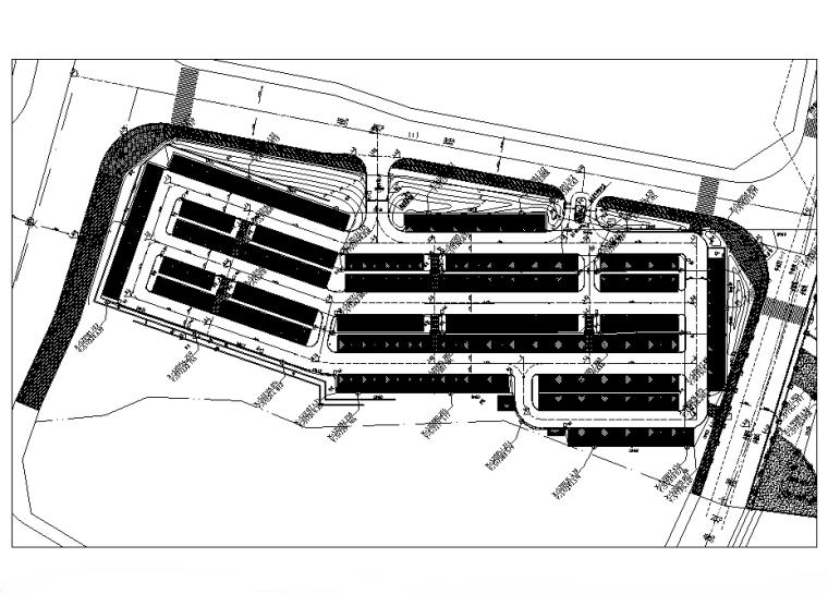 广东黄金海岸公共泳场及海滨栈道景观电气施工图(2016)