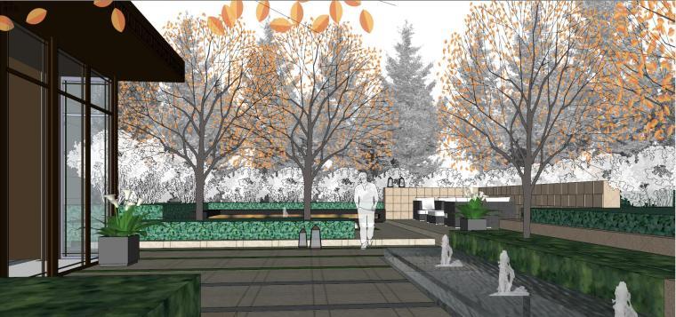 [上海]绿地理想家绿地璀璨天城居住区建筑模型设计(新中式风格)-知名地产理想家海知名地产璀璨天城 (11)