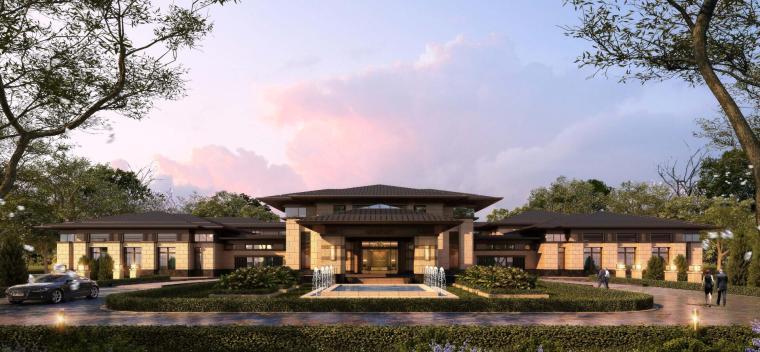 [河南]郑州凤凰岛国宾馆建筑模型设计(中式风格)-知名地产郑州凤凰岛国宾馆 中式最终 (7)