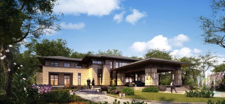 [河南]郑州凤凰岛国宾馆建筑模型设计(中式风格)-知名地产郑州凤凰岛国宾馆 中式最终 (8)