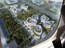 [河南]绿地郑州港区会展城首期商办sbf123胜博发娱乐模型设计(现代风格)