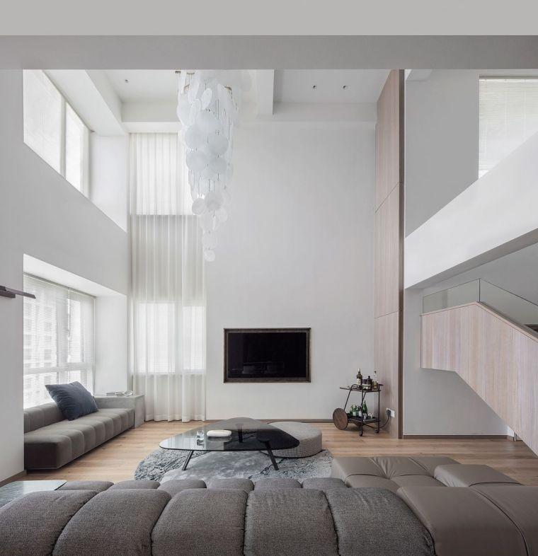 """500㎡""""极简""""别墅大宅设计,最简洁的状态来传达空间的故事!_2"""