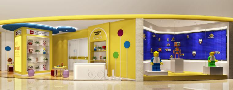 贝尔机器人儿童学院.观音桥校区丨效果图+深化设计方案-效果图 (6)