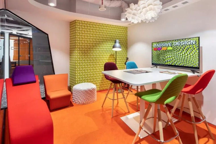 波兰Massive设计公司华沙办公设计-5c622983d086d