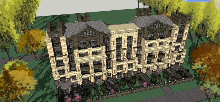 哈尔滨·绿地·海域岛屿墅建筑模型设计-海域岛屿墅c