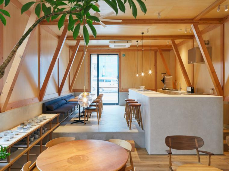 日本IDUMICafe和Residence咖啡馆