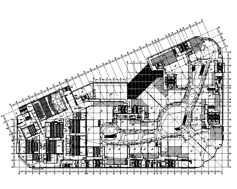 江西棚户改造工程商业购物中心电气施工图