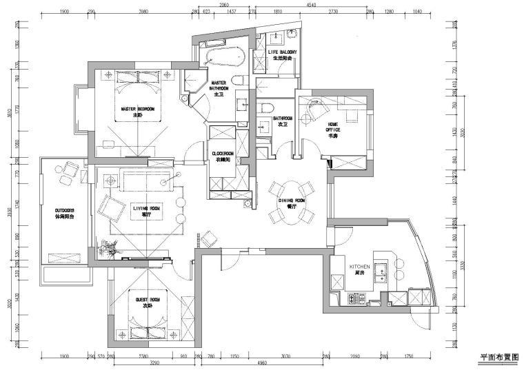 [浙江]力设计-杭州林风花园映水苑2号楼样板间CAD施工图+实景拍摄