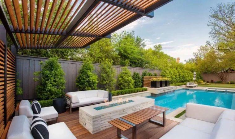 4种现代庭院设计风格,你最喜欢哪种美?_7