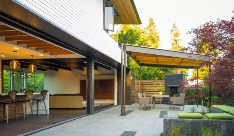 4种现代庭院设计风格,你最喜欢哪种美?_8