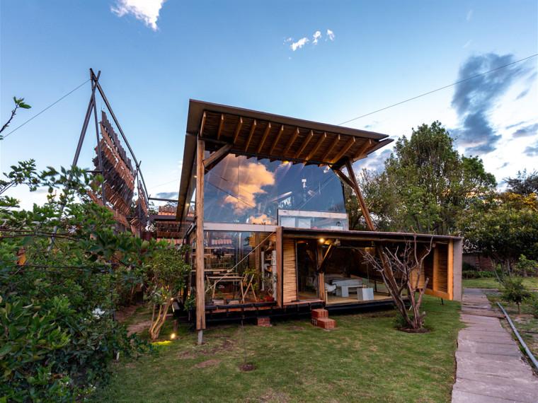 厄瓜多尔飞瓦小屋