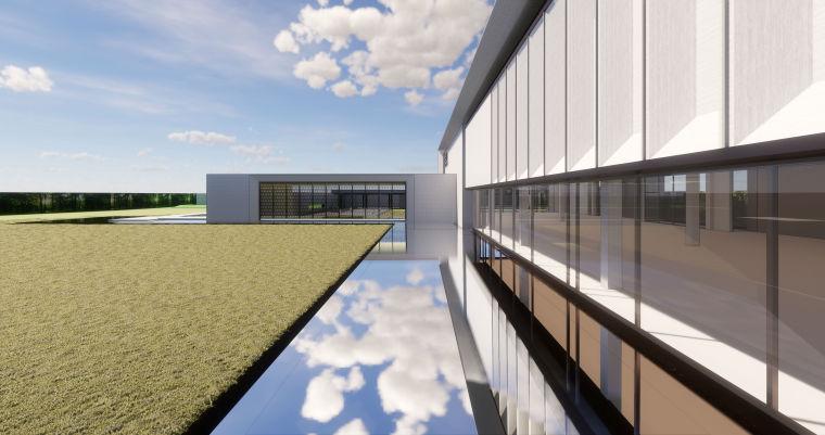 [北京]天悦壹号示范区售楼处建筑模型设计(新中式风格)-中粮·北京市天悦壹号示范区 售楼处 (18)