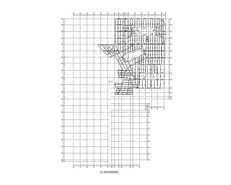 DK2-1商业四屋结构平面布置图