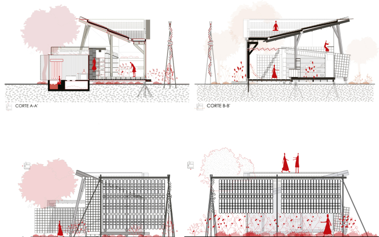厄瓜多尔飞瓦小屋-2_planos
