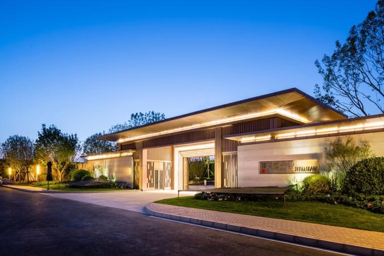 [北京]天悦壹号示范区售楼处建筑模型设计(新中式风格)