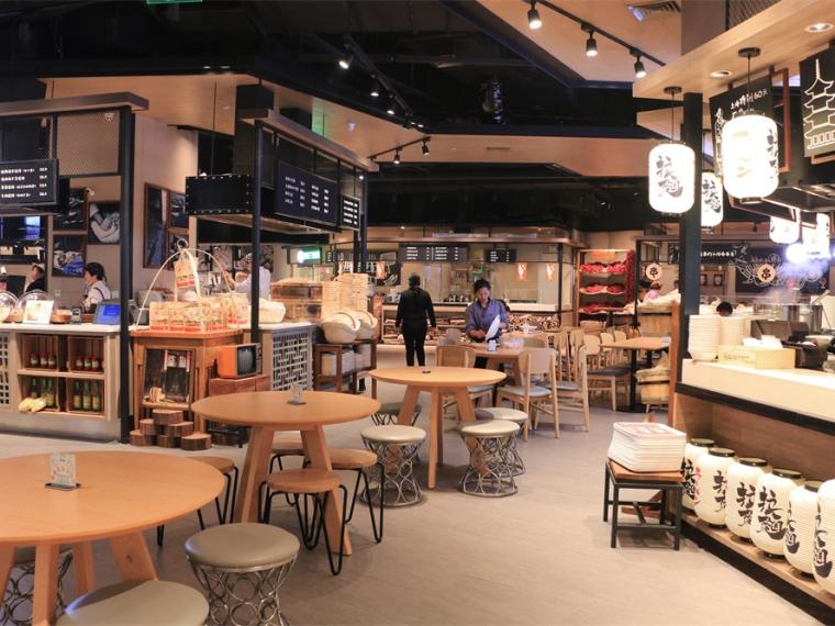 上海万象城食通天发现美食广场