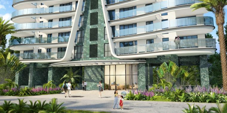 [广东]珠海华发绿洋湾滨海豪宅建筑模型设计(现代风格)-现代风格滨海豪宅 (14)