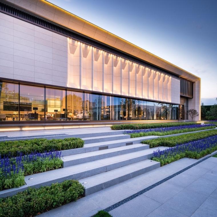 [北京]天悦壹号示范区售楼处建筑模型设计(新中式风格)-中粮·北京市天悦壹号示范区 售楼处 (8)