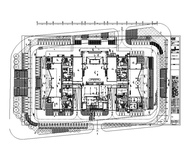 高层商业建筑电气施工图(2017)