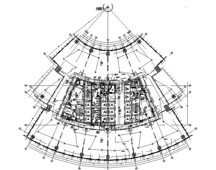 四川大型国际广场超高层消防水电招标图(中铁、商业、办公、酒店、住宅)