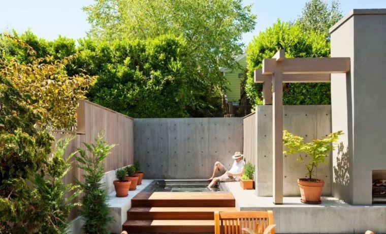4种现代庭院设计风格,你最喜欢哪种美?_15