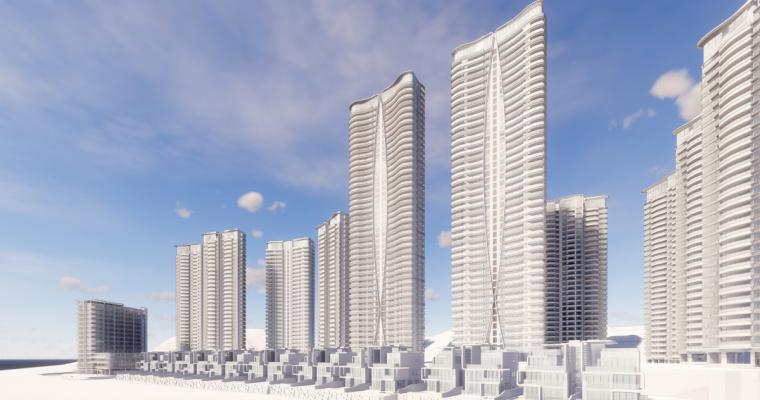 [广东]珠海华发绿洋湾滨海豪宅建筑模型设计(现代风格)-现代风格滨海豪宅 (18)