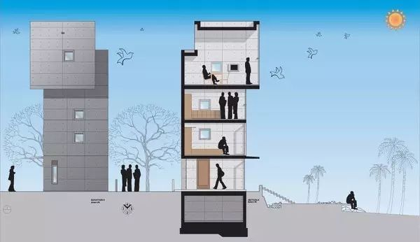 读者票选NO.1的安藤忠雄,设计了一对海边双子楼,用来感悟人生_8