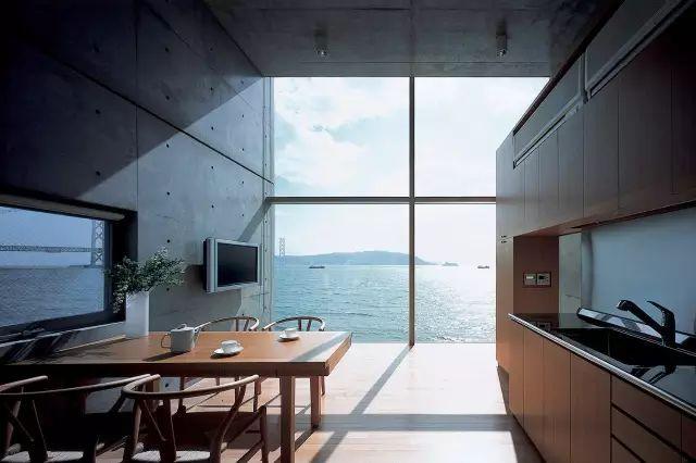 读者票选NO.1的安藤忠雄,设计了一对海边双子楼,用来感悟人生_12