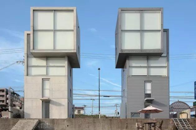 读者票选NO.1的安藤忠雄,设计了一对海边双子楼,用来感悟人生_16