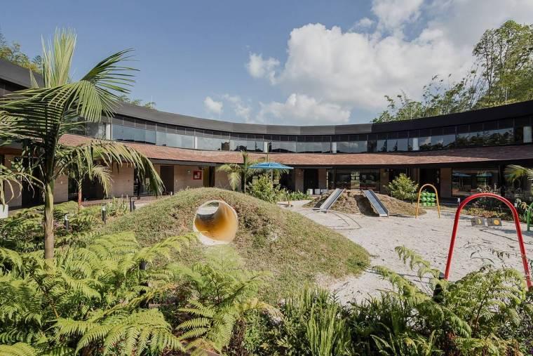 哥伦比亚蒙特梭利幼儿园景观-15659421665