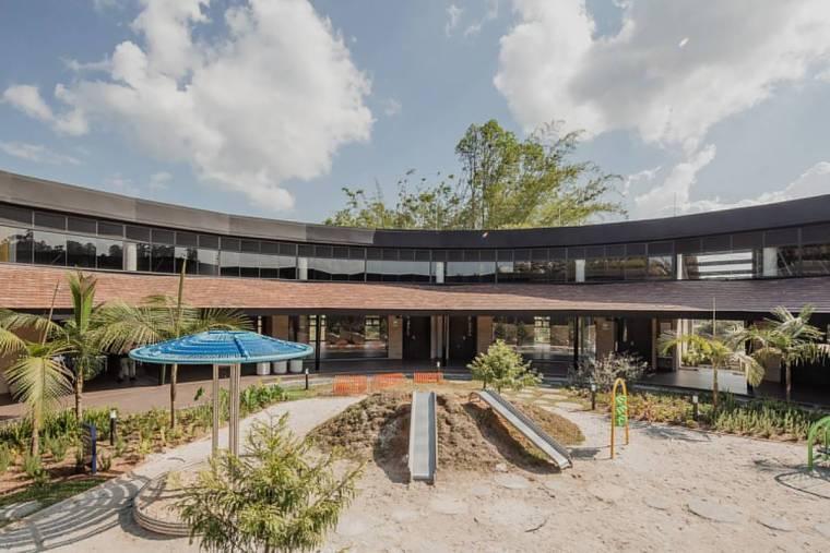 哥伦比亚蒙特梭利幼儿园景观-15659421664