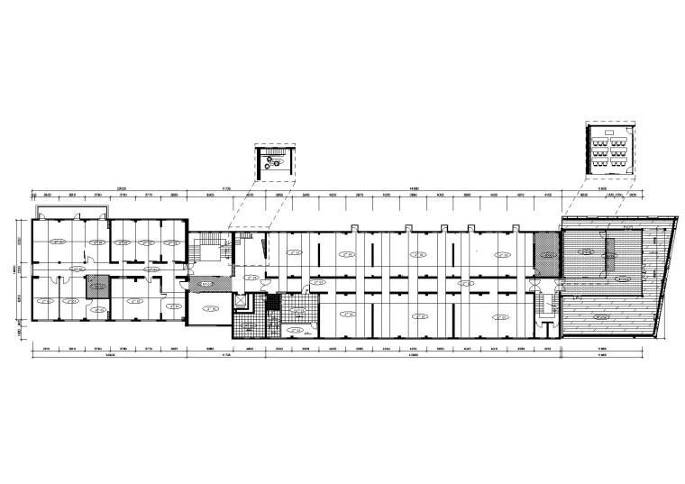 法国Altavia上海办公室施工图+官方摄影-地面铺装图