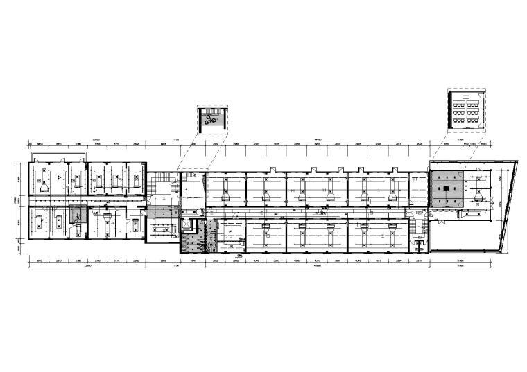 法国Altavia上海办公室施工图+官方摄影-综合天花图