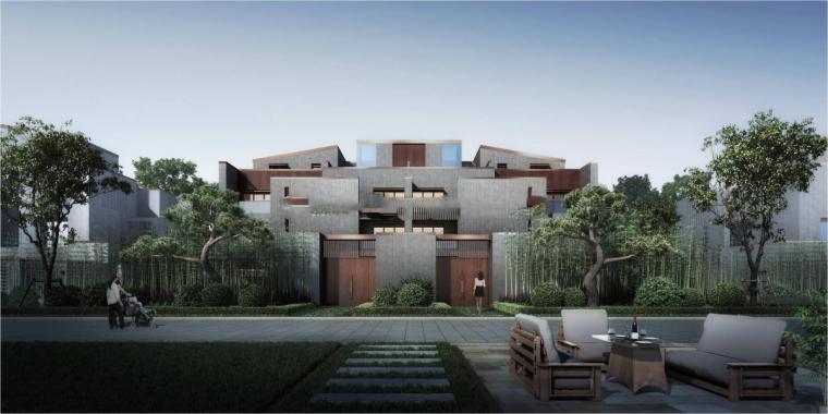 [河南]郑地美景东望住宅整体建筑模型设计-郑地美景东望 住宅整体 (6)