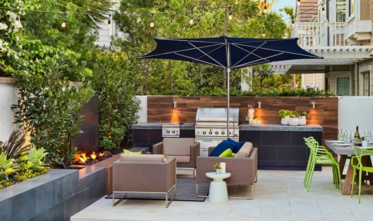 4种现代庭院设计风格,你最喜欢哪种美?_19