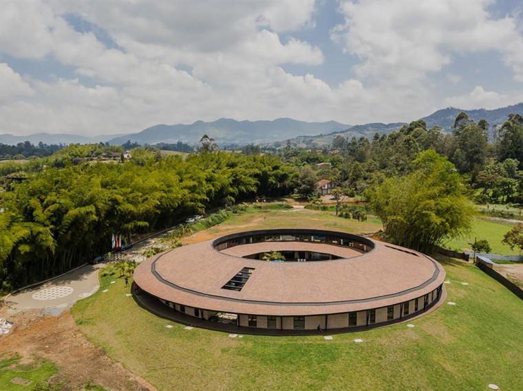 哥伦比亚蒙特梭利幼儿园景观