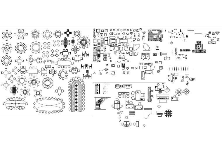 CAD完美图库+铝扣板吊顶大样图-室内家具图库