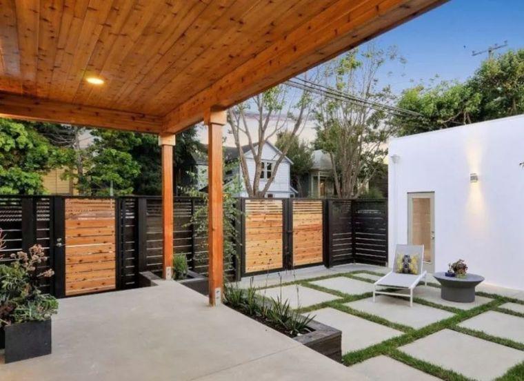 4种现代庭院设计风格,你最喜欢哪种美?_3