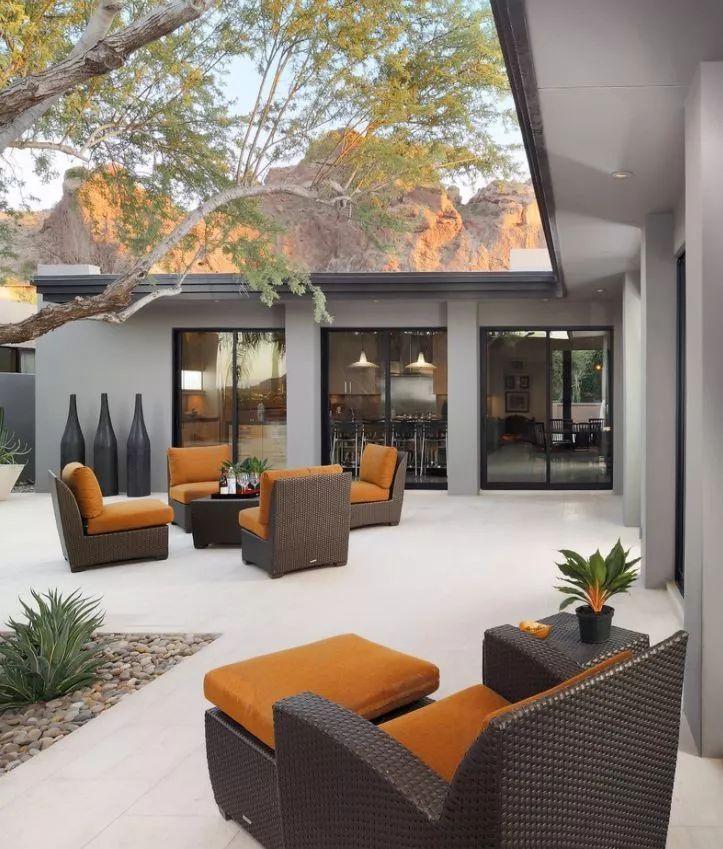 4种现代庭院设计风格,你最喜欢哪种美?_5