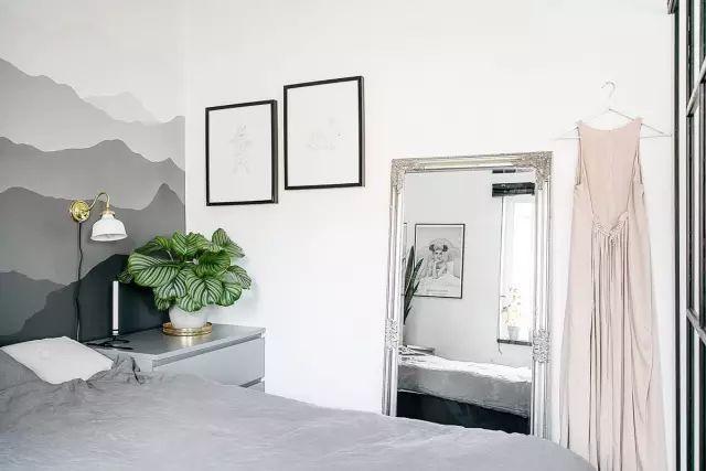 50㎡的小公寓,卧房、客厅、卫浴、厨房、饭厅全都有!_7