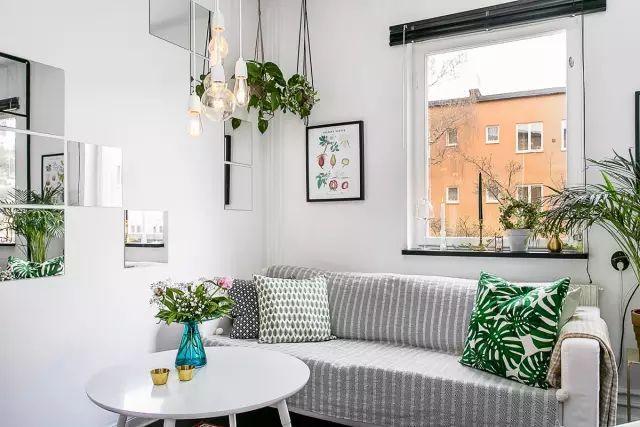 50㎡的小公寓,卧房、客厅、卫浴、厨房、饭厅全都有!_5