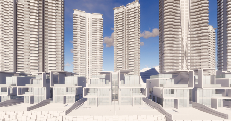 [广东]珠海华发绿洋湾滨海豪宅建筑模型设计(现代风格)-现代风格滨海豪宅 (21)