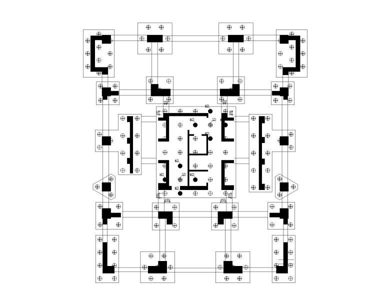 A03号楼试桩图