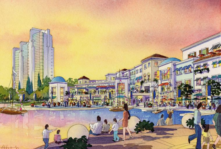 [上海]开元地中海广场规划及商业建筑设计文本