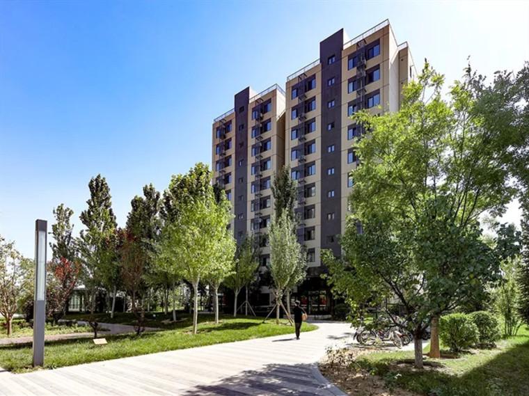 北京万科长阳天地住宅景观